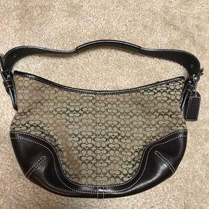 Coach Signature Small Hobo Handbag 👜